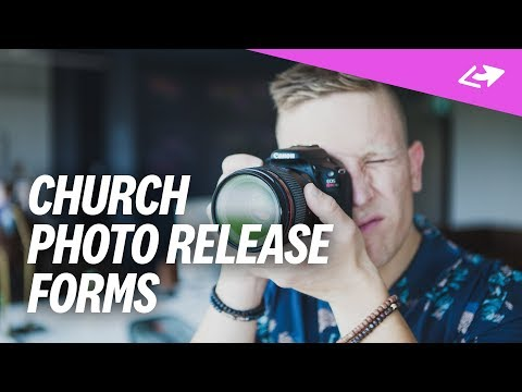How Real Churches Get Photo Release Forms