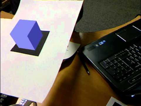ARToolKit - Simple Test (Hiro)