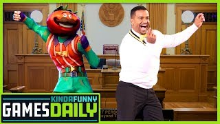 Carlton vs. Fortnite: You Can't Copyright That - Kinda Funny Games Daily 02.15.19