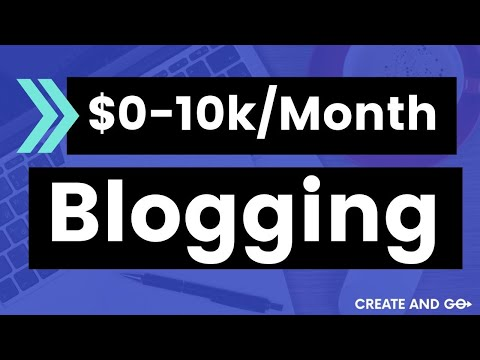 How to Make Money Writing a Blog - Our Story from $0 to 10k