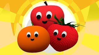 Плоды палец Семья | Узнать Фрукты | Детские стишки | Fruit Song | Kids Rhyme | Fruit Finger Family