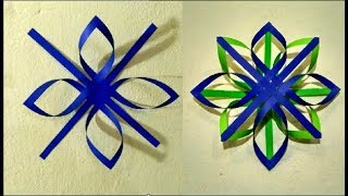 Diy Room And Wall Decoration Ideas Using Colored Paper Craft