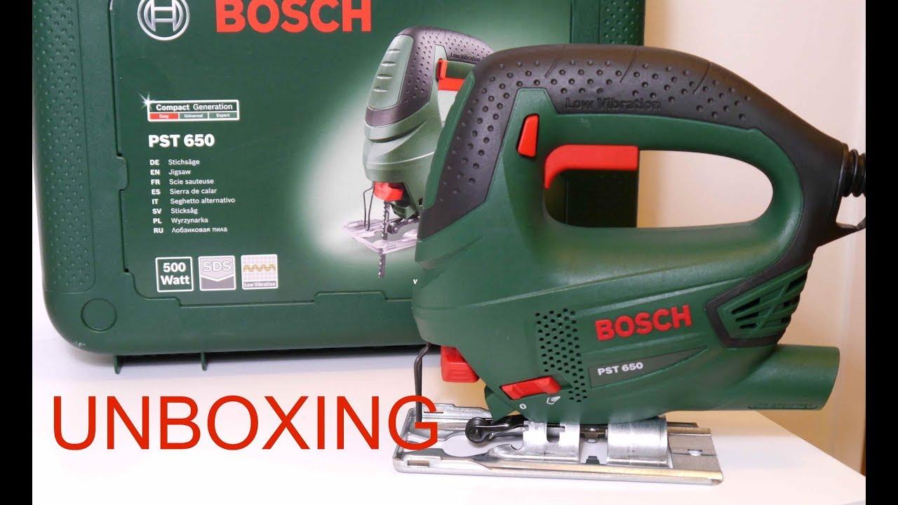 Zeer BOSCH PST 650 - YouTube WY49