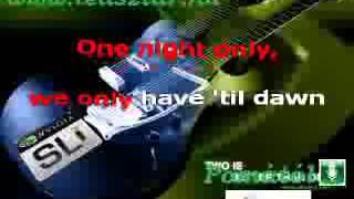 one night only karaoke