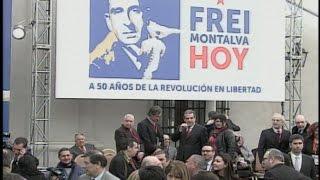 Gobierno realizó homenaje a Eduardo Frei Montalva en La Moneda