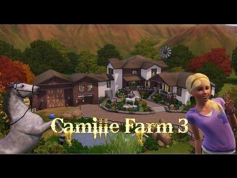 The Sims 3 House building  Camille Farm 3  YouTube