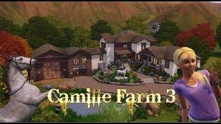 The Sims 3, House Building - Camille Farm 3
