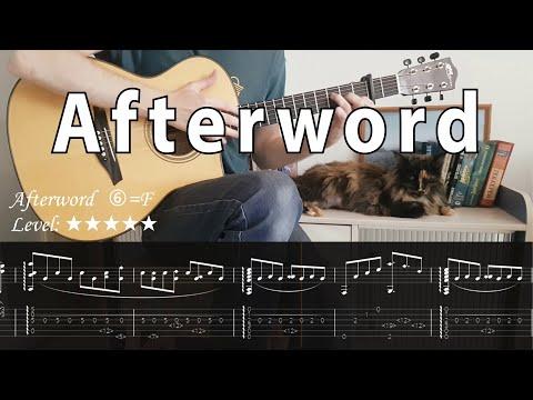 Afterword   fingerstyle guitar  tabs