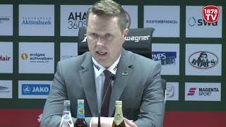 1878 TV | Pressekonferenz 17.03.2019 Augsburg - Düsseldorf 3:4