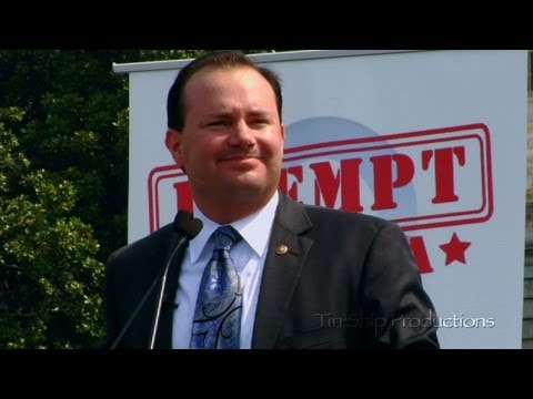 Exempt America from Obamacare Rally: Mike Lee
