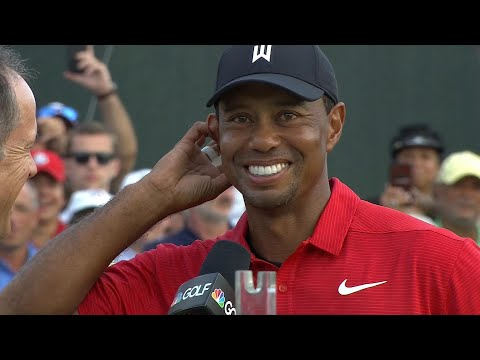 Tiger Woods on Tour Championship win: 'I just can't believe I've pulled this off' I NBC Sports