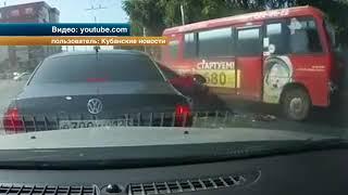 Массовая авария в Краснодаре