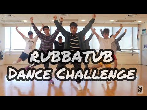 Rubbatub dance challenge by  guddah