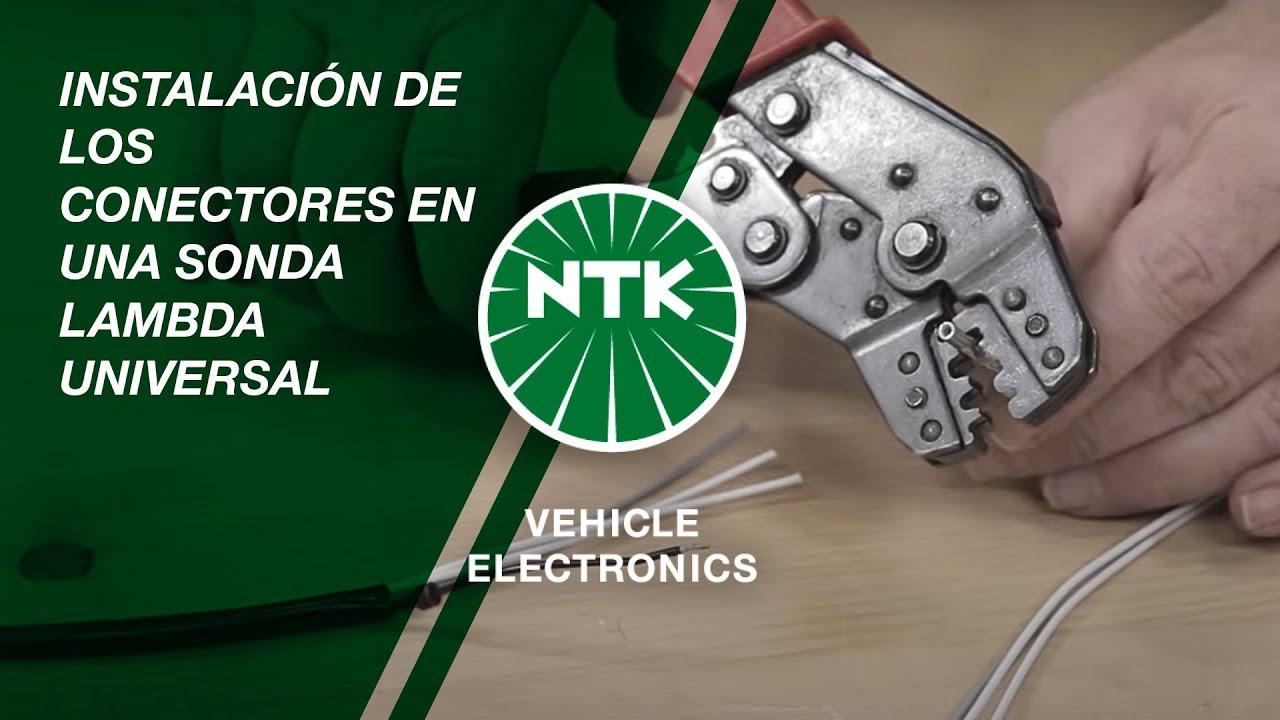 instalaci u00f3n de los conectores en una sonda lambda