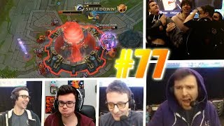 LE BACKDOOR DE GOB A LA LYON ESPORT - BEST OF STREAM LOL FR #77 (Avec Jbzz, Gob, Melon...)