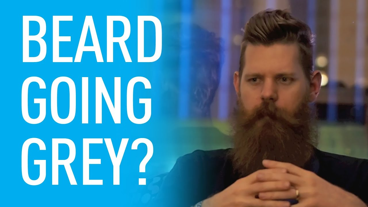 How To Handle Your Beard Going Grey | Eric Bandholz - YouTube
