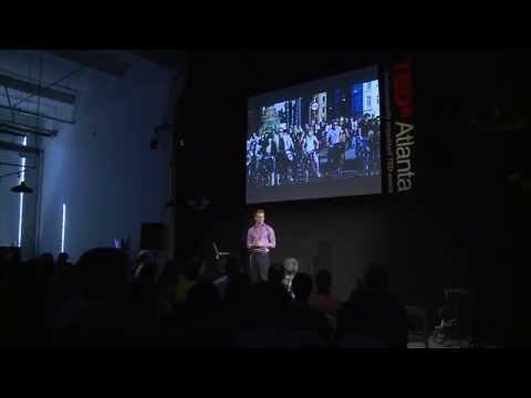 Solving transportation needs through cycling: Thomas Stokell at TEDxAtlanta