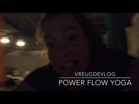 VREUGDEVLOG 26 🍞 power flow yoga