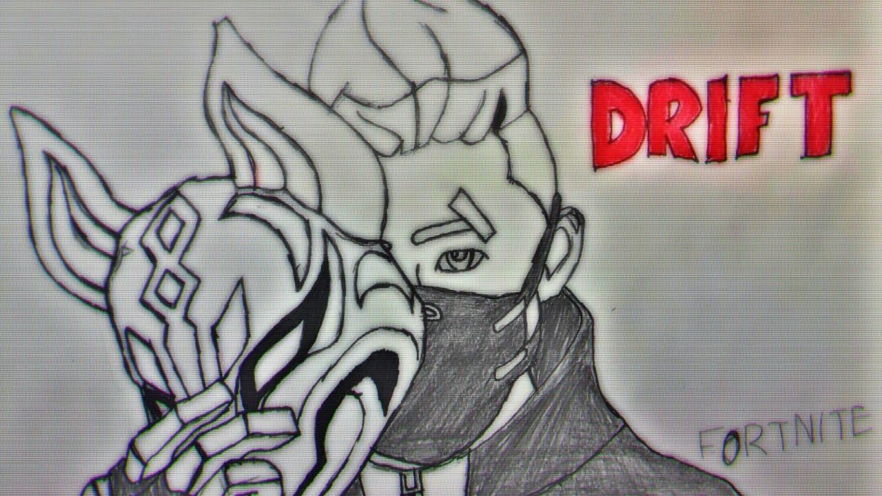 Fortnite Drift Speed Draw Pencil Art