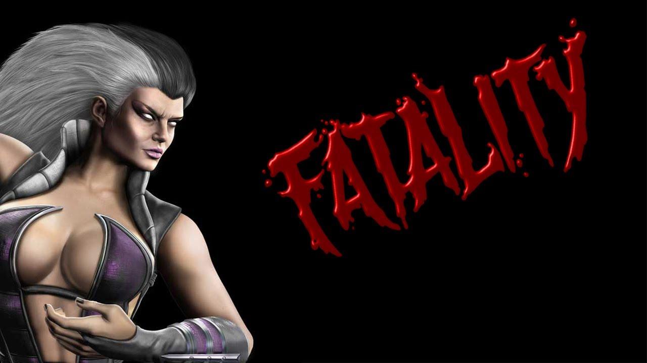 Mortal Kombat 9 - All Sindel Fatalities - YouTube