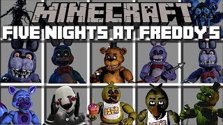 - Minecraft FIVE NIGHTS AT FREDDY S MOD FIGHT AND SURVIVE 3AM AT NIGHT Minecraft