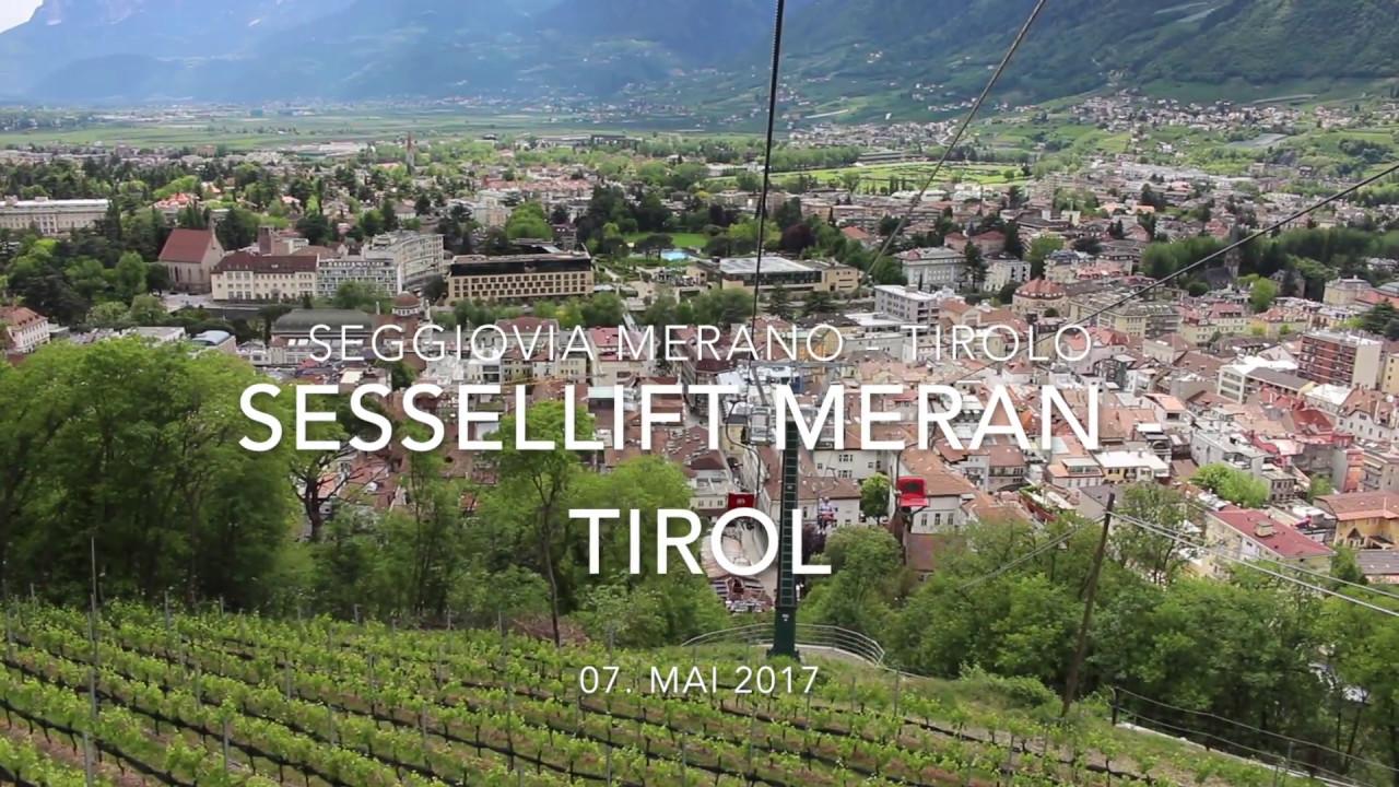 Sessellift meran dorf tirol youtube for Designhotel dorf tirol