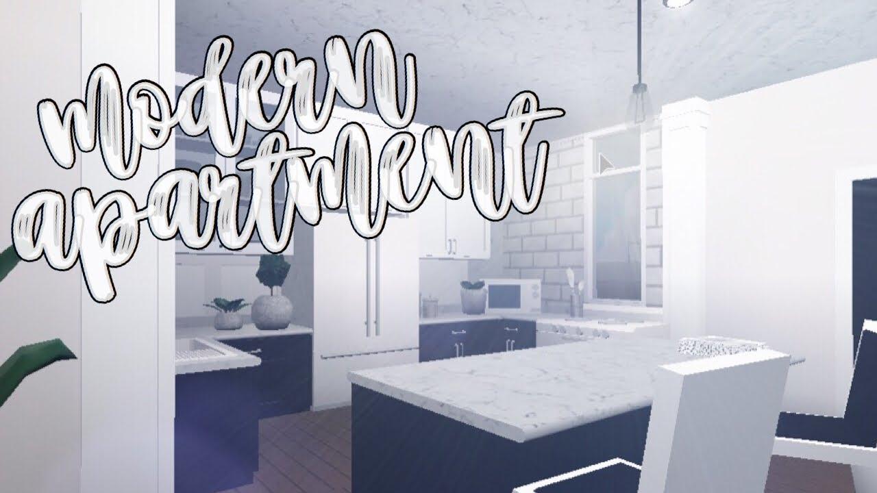 Bloxburg Modern Apartment Youtube
