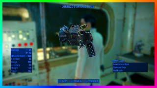 Fallout 4 RARE Gamma Gun! - Lorenzo