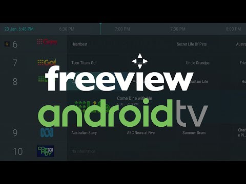 Australia Freeview IPTV Channels On Android TV