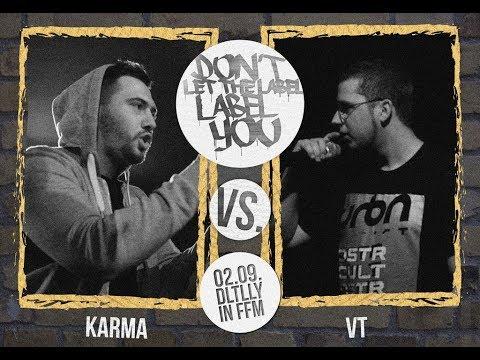 VT vs Karma // DLTLLY RapBattle (FFM) // 2017
