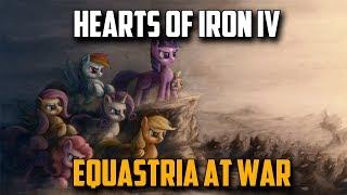 ВОЙНА ПОНЕЙ! Hearts of Iron 4 Equastria At War - Обзор Мода