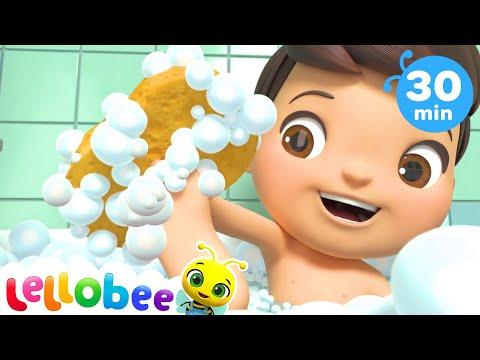 Splish Splash Bath Song   +More Nursery Rhymes & Kids Songs   Compilation   Little Baby Bum