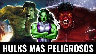 Los Hulks más peligrosos clasificados
