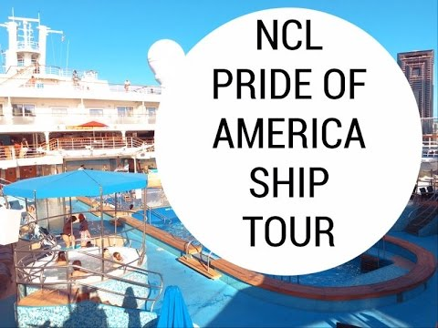 Pride of America Ship Tour & Walk Through | Hawaii cruise