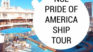 Pride of America Ship Tour & Walk Through | Hawaii cruise