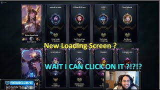 QT REACTS TO THE NEW LOADING SCREEN | WTF RIOT?! BUGS IN LCS | MORE - Best LoL Moments #1