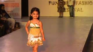 WHAT A CONFIDENCE, CUTE & SWEET GIRL RAMP WALK AT KIDS FASHION SHOW IN PUNE Anshita Rajure