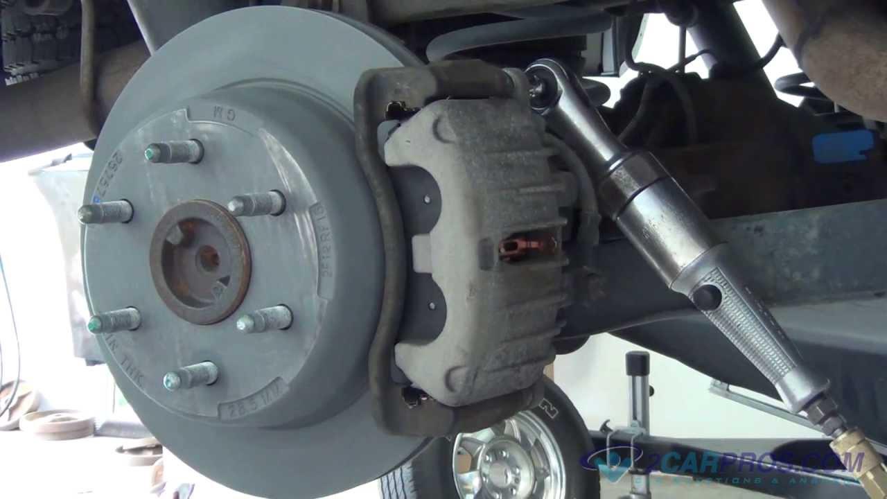 rear brake pads rotor replacement chevrolet tahoe suburban 2000 2013 youtube [ 1280 x 720 Pixel ]