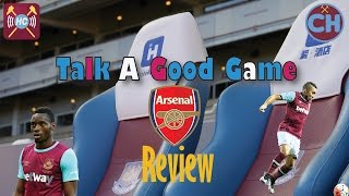 West Ham 3 - 3 Arsenal Highlights Discussed | Talk A Good Game | Carroll costs Gunners title hopes