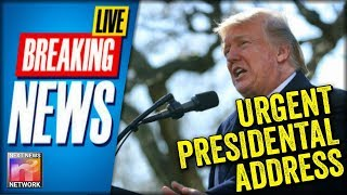 LIVE BREAKING NOW: President Trump STOPS EVERYTHING to Deliver URGENT Message from the White House