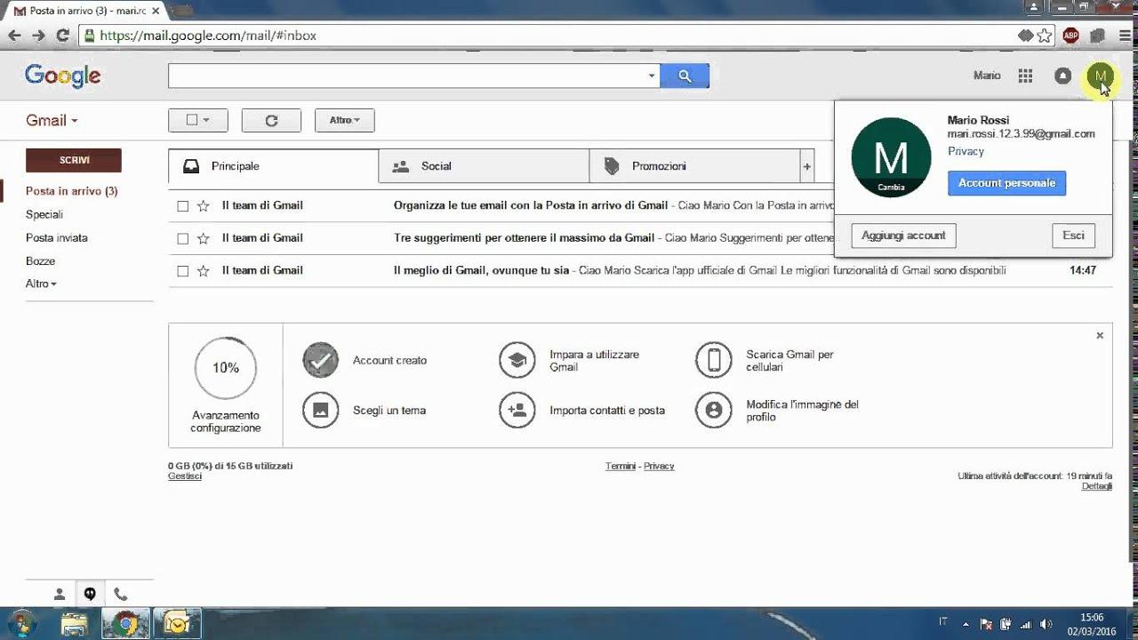 Configurare hotmail su outlook 2007