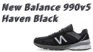 New Balance 990v5 Black 뉴발란스 9…