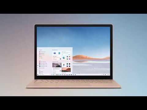 Panos Panay Windows 10 New UI Tease March 2020