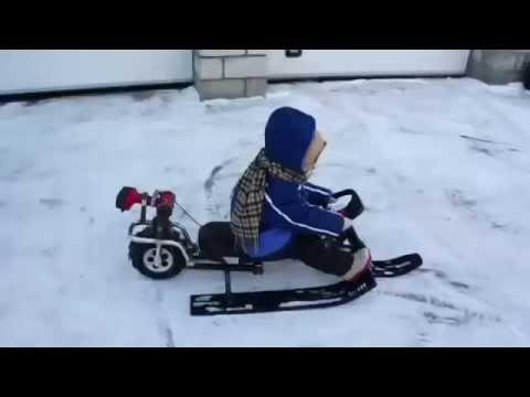снегоход детский фото