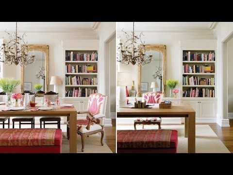 Interior Design – A Double-Duty Dining Room And Office
