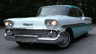 1958 Chevrolet Biscayne: Start Up, Test Drive & In Depth Review