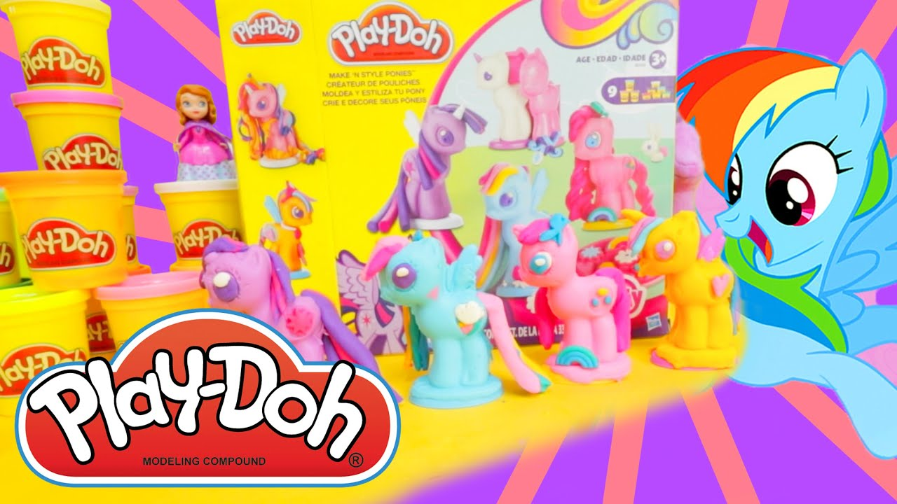 My Little Pony Play-Doh | Play-Doh My Little Pony | Play ...