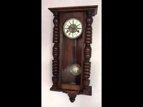 Antique Vienna Wall Clock for sale with Westminster Chimes