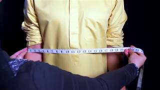 DxB Tailored: How to take measurements (Gents)