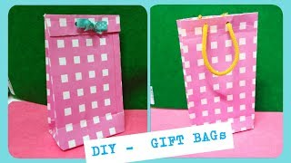 #Gift bag #Paper crafts #Christmas CRAFTS # kids channel #kids activities #Paper gift bag
